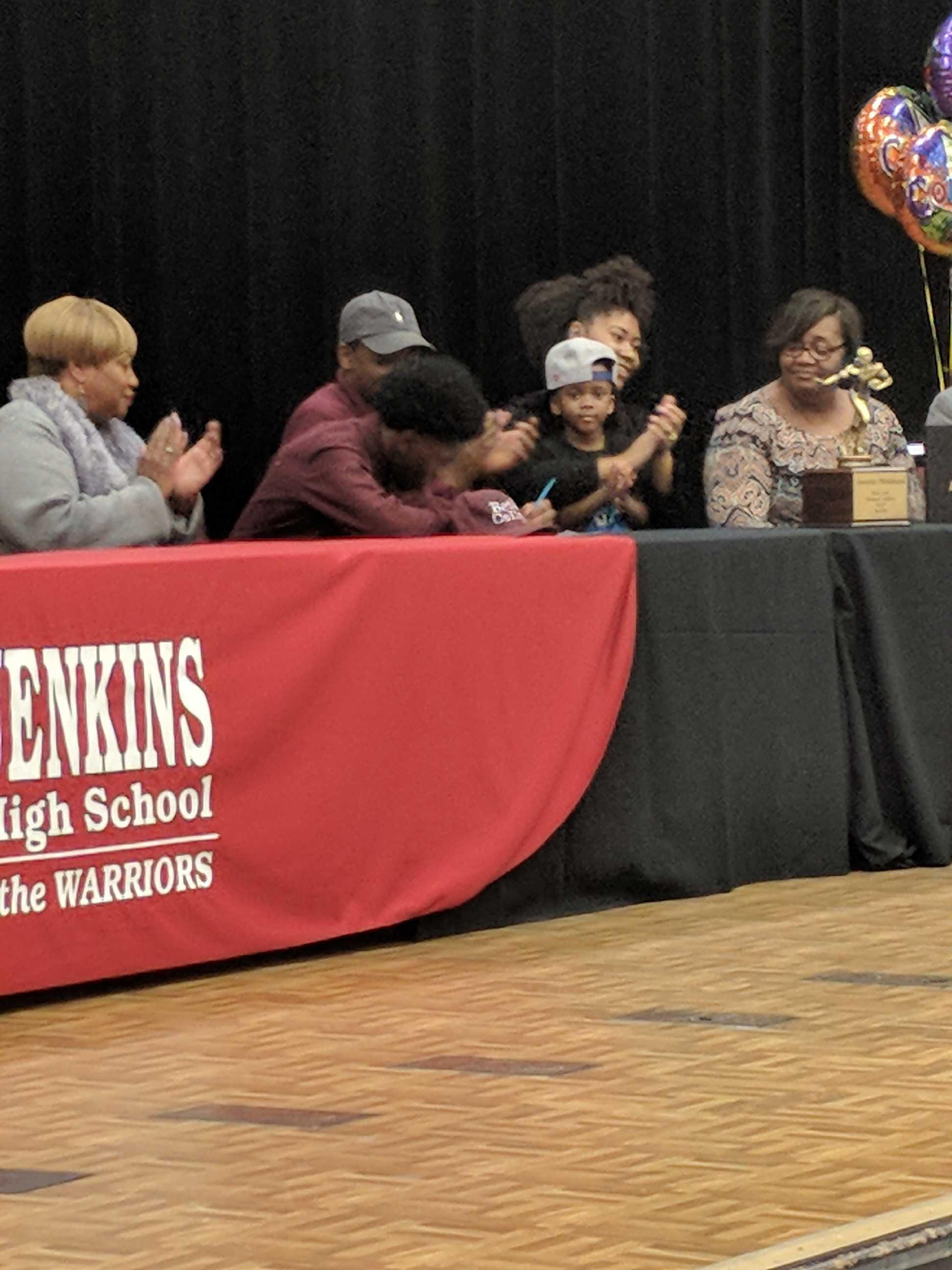 Jenkin's Signing